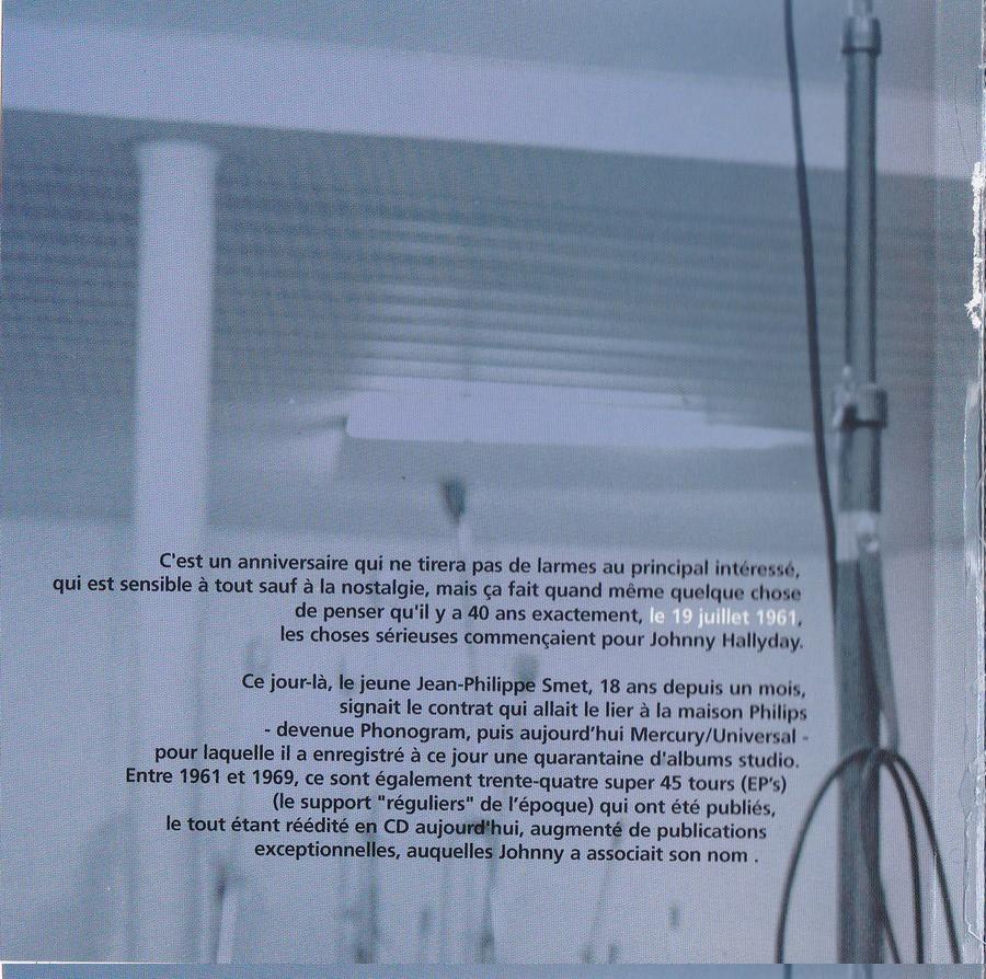 COFFRET 40 CD 1961-1969 ( REEDITION DES 40 EP )( 2001 ) 2001_l14