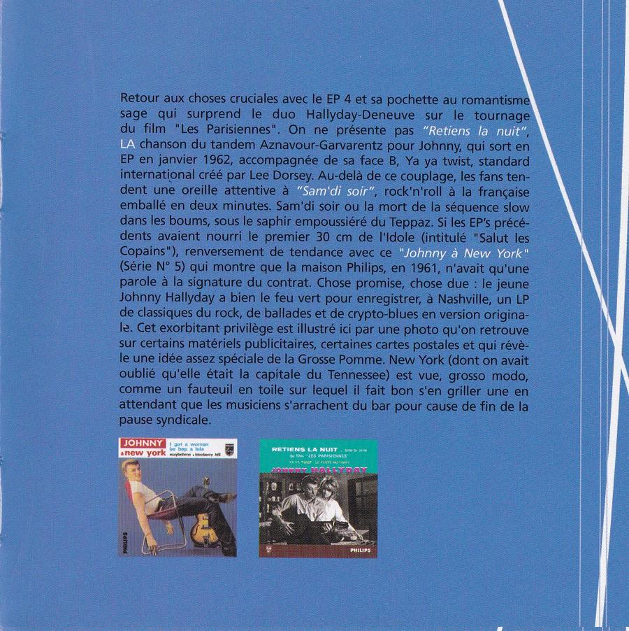 COFFRET 40 CD 1961-1969 ( REEDITION DES 40 EP )( 2001 ) 2001_l22