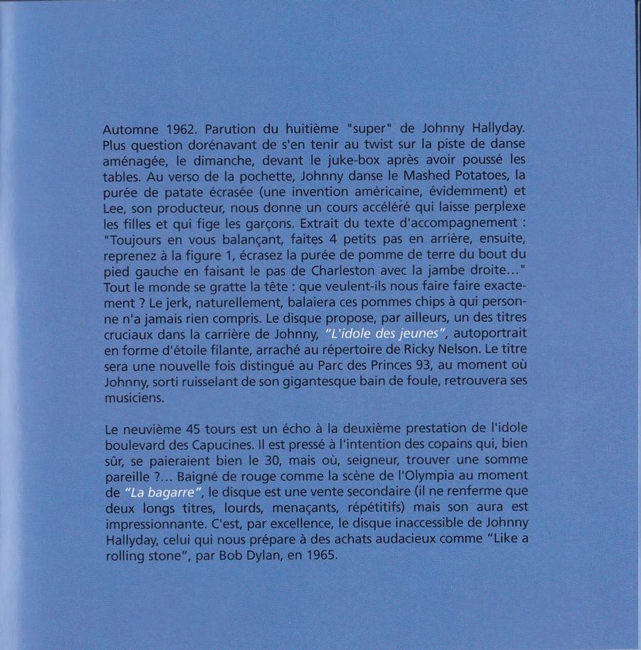 COFFRET 40 CD 1961-1969 ( REEDITION DES 40 EP )( 2001 ) 2001_l27