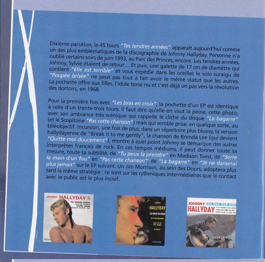 COFFRET 40 CD 1961-1969 ( REEDITION DES 40 EP )( 2001 ) 2001_l31