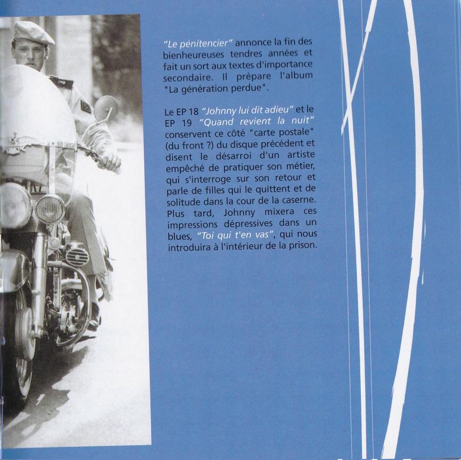 COFFRET 40 CD 1961-1969 ( REEDITION DES 40 EP )( 2001 ) 2001_l40