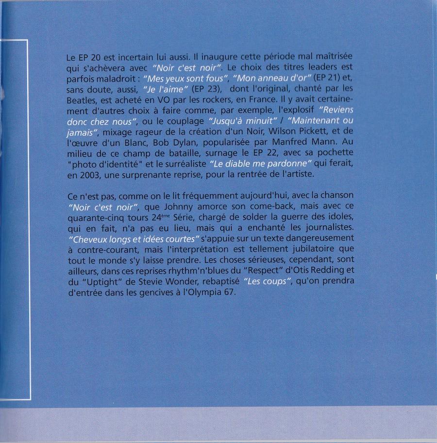 COFFRET 40 CD 1961-1969 ( REEDITION DES 40 EP )( 2001 ) 2001_l42