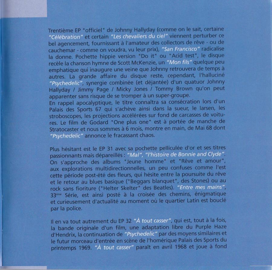 COFFRET 40 CD 1961-1969 ( REEDITION DES 40 EP )( 2001 ) 2001_l46