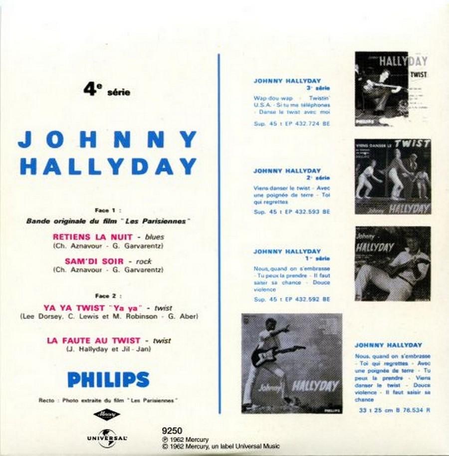 COFFRET 40 CD 1961-1969 ( REEDITION DES 40 EP )( 2001 ) 2001_l70