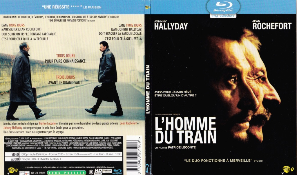 LES FILMS DE JOHNNY 'L'HOMME DU TRAIN' 2002 2002_l18
