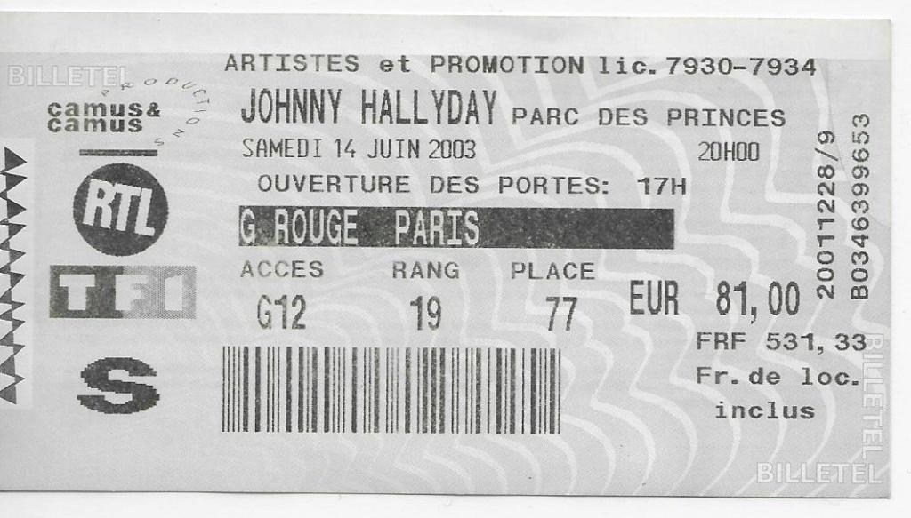Pour Zorba (billets de concert) 200310