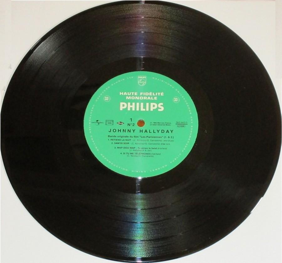 RETIENS LA NUIT ( 25cm )( TOUTE LES EDITIONS )( 1962-2003 ) 2003_040
