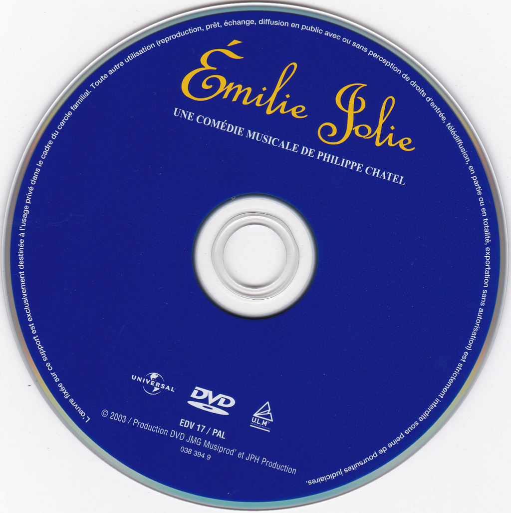 JAQUETTE DVD EMISSIONS TV , DOCUMENTS ,COMPILATIONS , ETC ( Jaquette + Sticker ) 2003_e10
