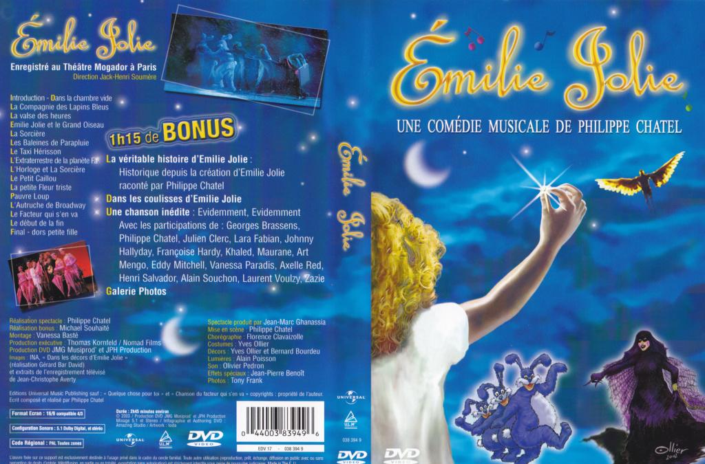 JAQUETTE DVD EMISSIONS TV , DOCUMENTS ,COMPILATIONS , ETC ( Jaquette + Sticker ) 2003_e12