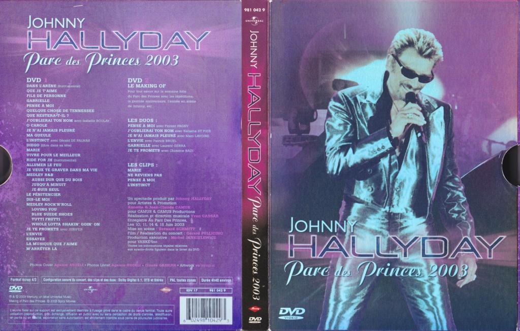 JAQUETTE DVD CONCERTS ( Jaquette + Sticker ) 2003_p13