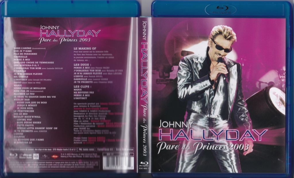 JAQUETTES BLU-RAY DISC ( CONCERTS, FILMS ) 2003_p15