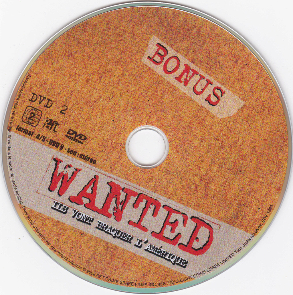 JAQUETTE DVD FILMS ( Jaquette + Sticker ) 2003_w14