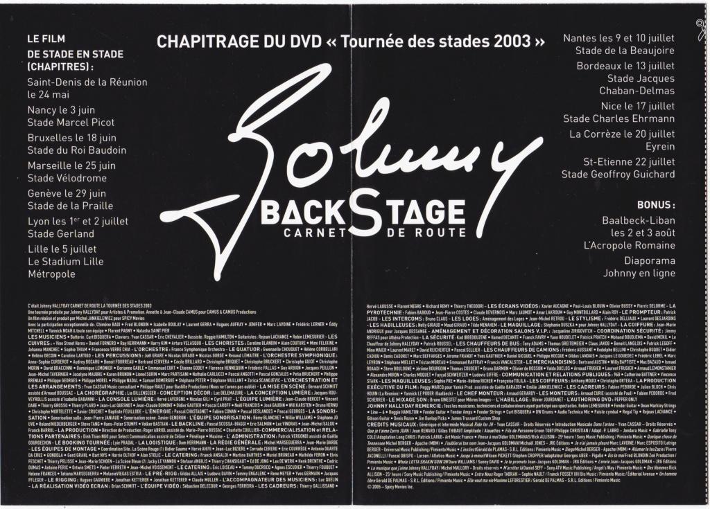 JAQUETTE DVD EMISSIONS TV , DOCUMENTS ,COMPILATIONS , ETC ( Jaquette + Sticker ) 2005_b11