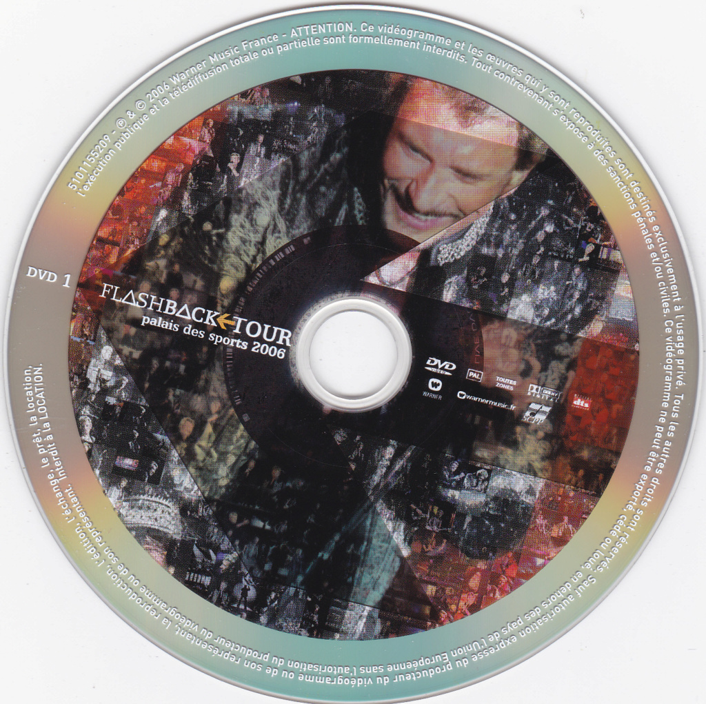 JAQUETTE DVD CONCERTS ( Jaquette + Sticker ) 2006_f12