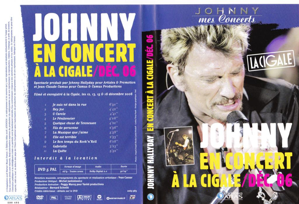 JAQUETTE DVD CONCERTS ( Jaquette + Sticker ) 2006_j15