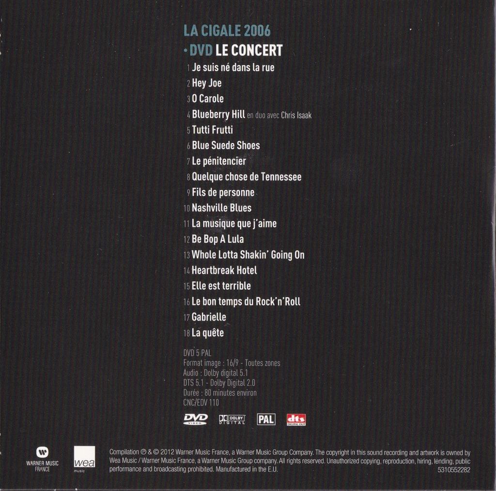 JAQUETTE DVD CONCERTS ( Jaquette + Sticker ) 2006_j17