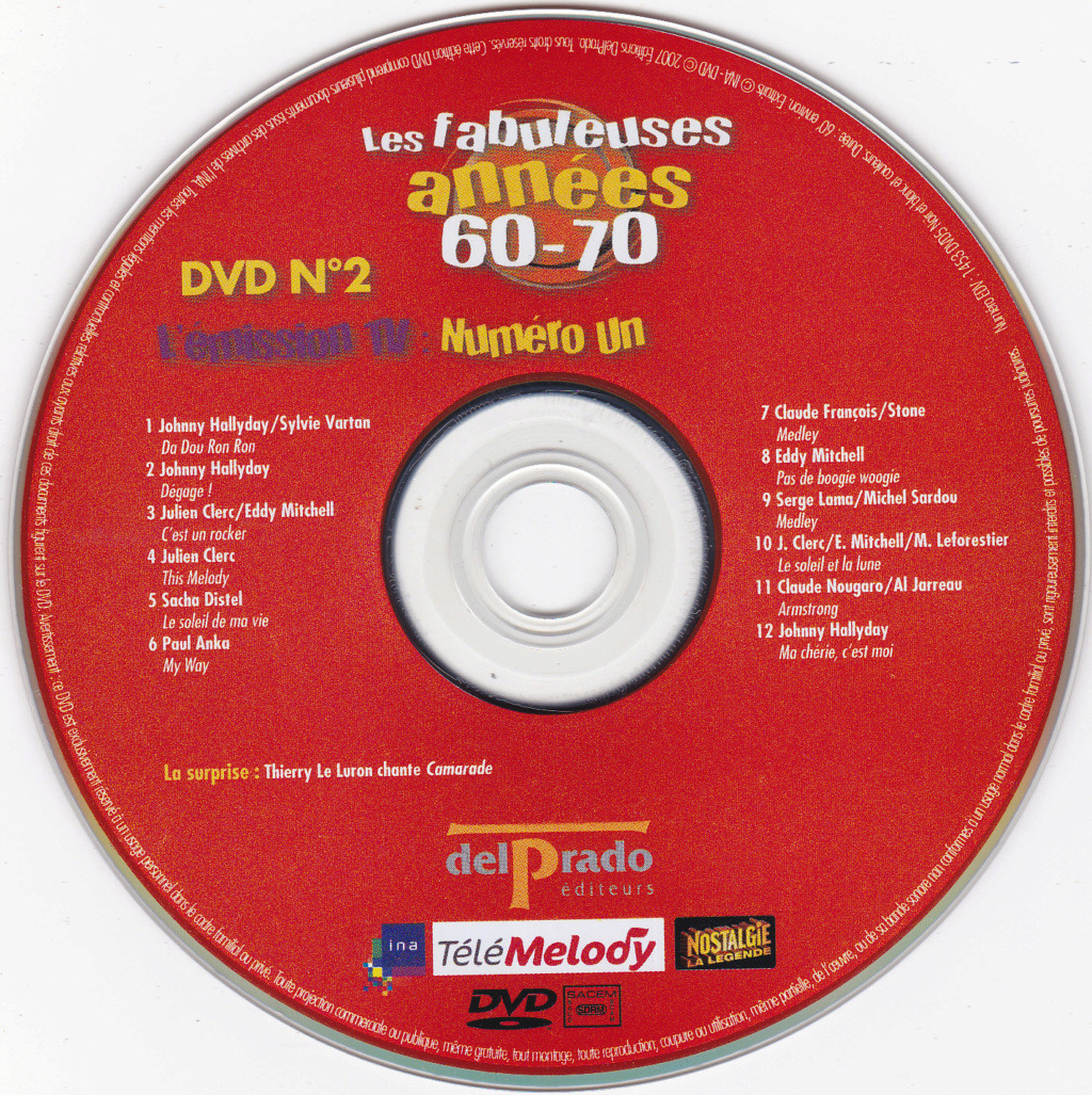 JAQUETTE DVD EMISSIONS TV , DOCUMENTS ,COMPILATIONS , ETC ( Jaquette + Sticker ) 2007_l15