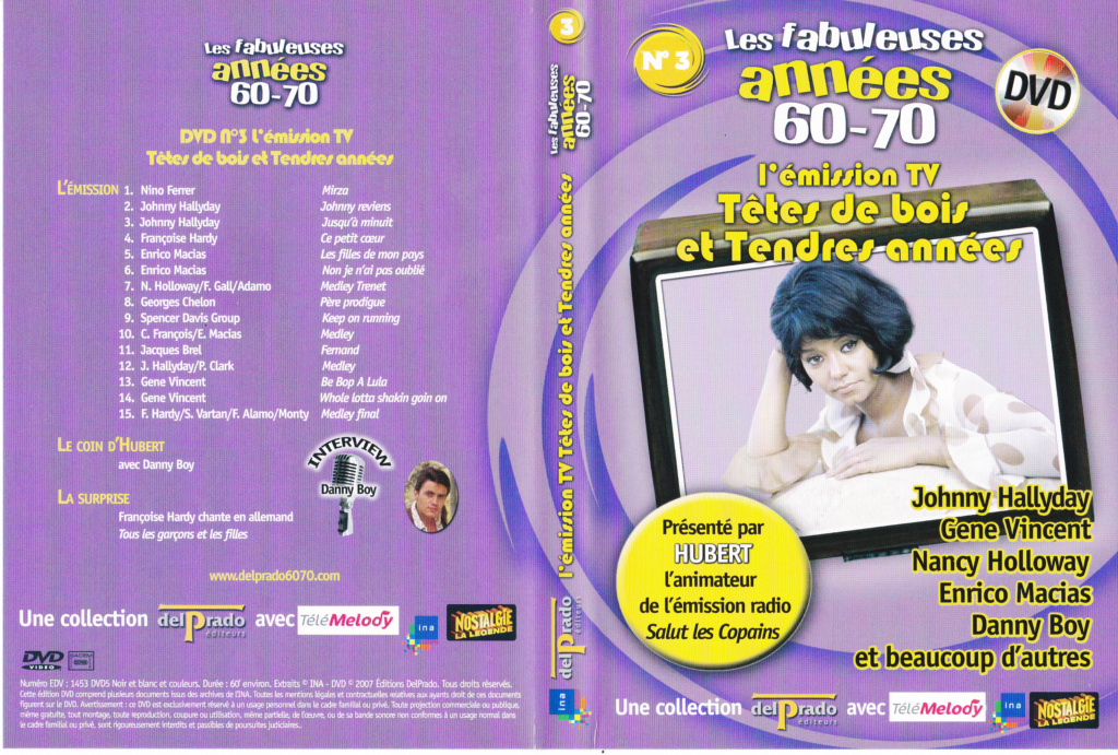 JAQUETTE DVD EMISSIONS TV , DOCUMENTS ,COMPILATIONS , ETC ( Jaquette + Sticker ) 2007_l18