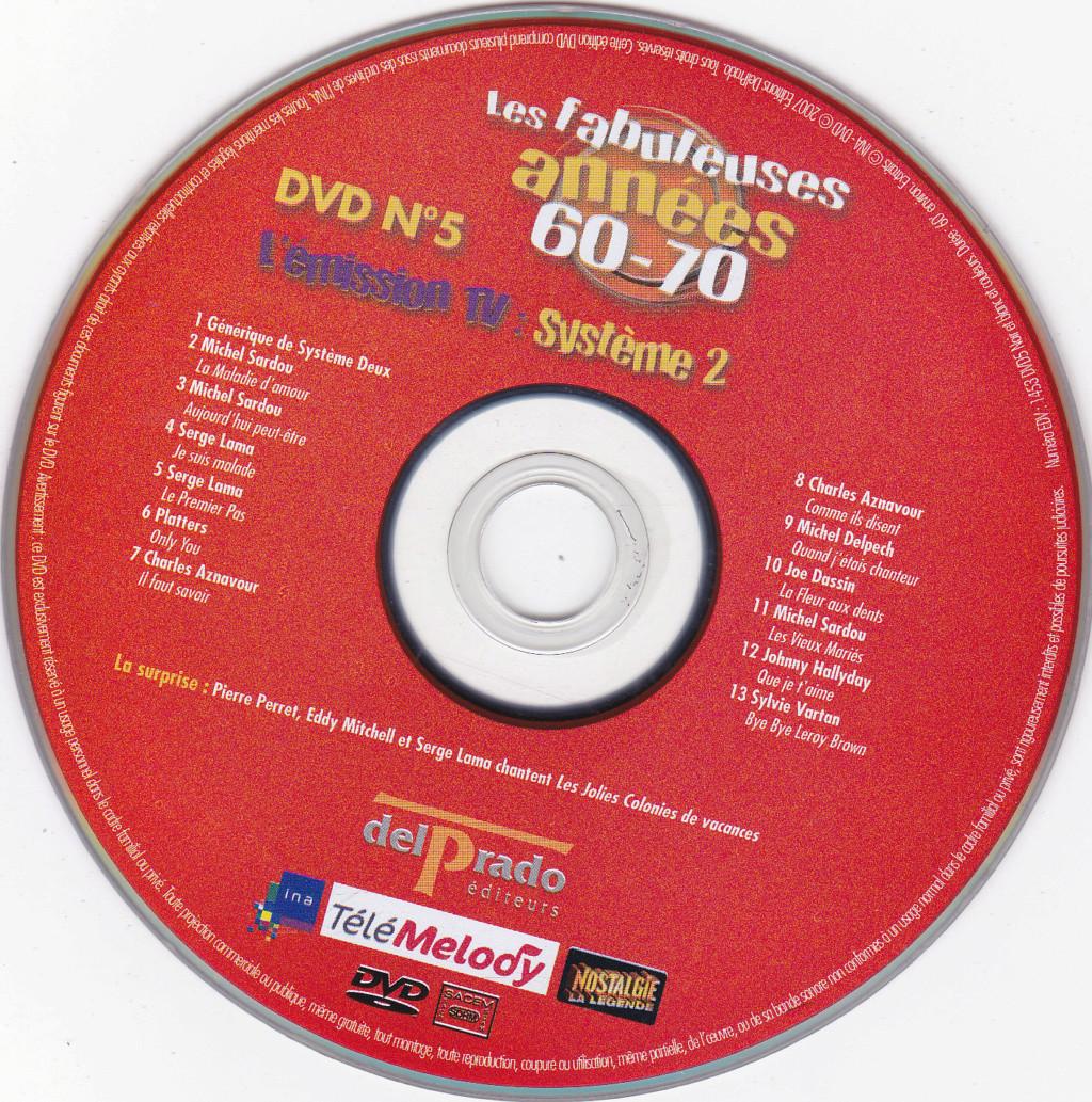 JAQUETTE DVD EMISSIONS TV , DOCUMENTS ,COMPILATIONS , ETC ( Jaquette + Sticker ) 2007_l19