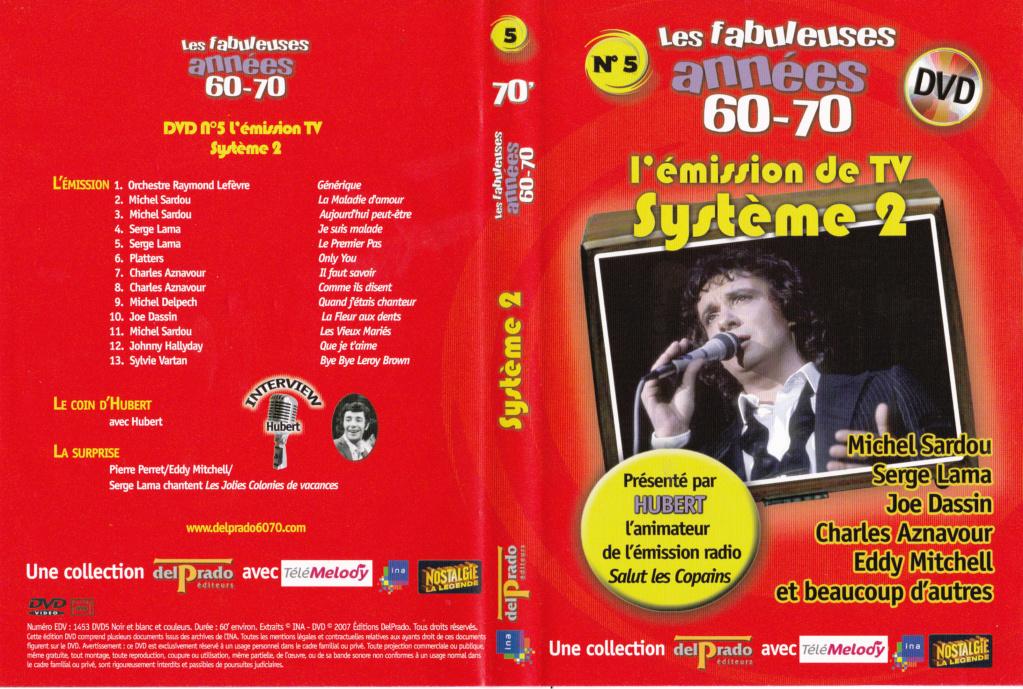 JAQUETTE DVD EMISSIONS TV , DOCUMENTS ,COMPILATIONS , ETC ( Jaquette + Sticker ) 2007_l20