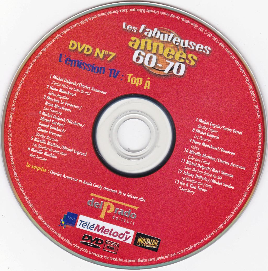 JAQUETTE DVD EMISSIONS TV , DOCUMENTS ,COMPILATIONS , ETC ( Jaquette + Sticker ) 2007_l22