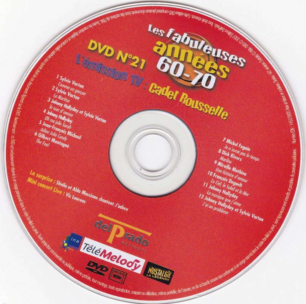 JAQUETTE DVD EMISSIONS TV , DOCUMENTS ,COMPILATIONS , ETC ( Jaquette + Sticker ) 2007_l23