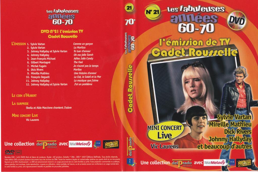 JAQUETTE DVD EMISSIONS TV , DOCUMENTS ,COMPILATIONS , ETC ( Jaquette + Sticker ) 2007_l24