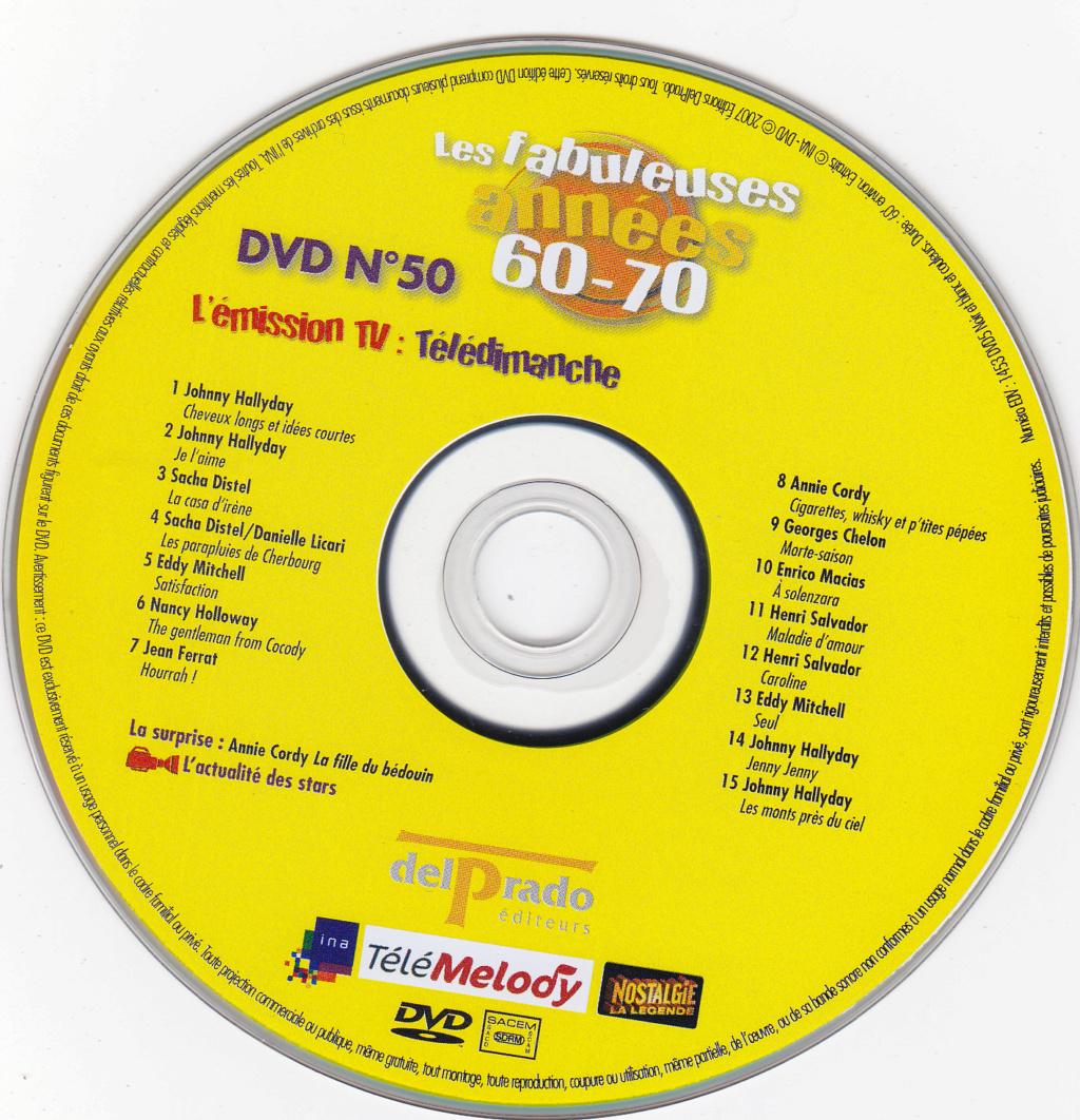 JAQUETTE DVD EMISSIONS TV , DOCUMENTS ,COMPILATIONS , ETC ( Jaquette + Sticker ) 2007_l25