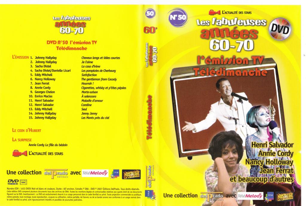 JAQUETTE DVD EMISSIONS TV , DOCUMENTS ,COMPILATIONS , ETC ( Jaquette + Sticker ) 2007_l26