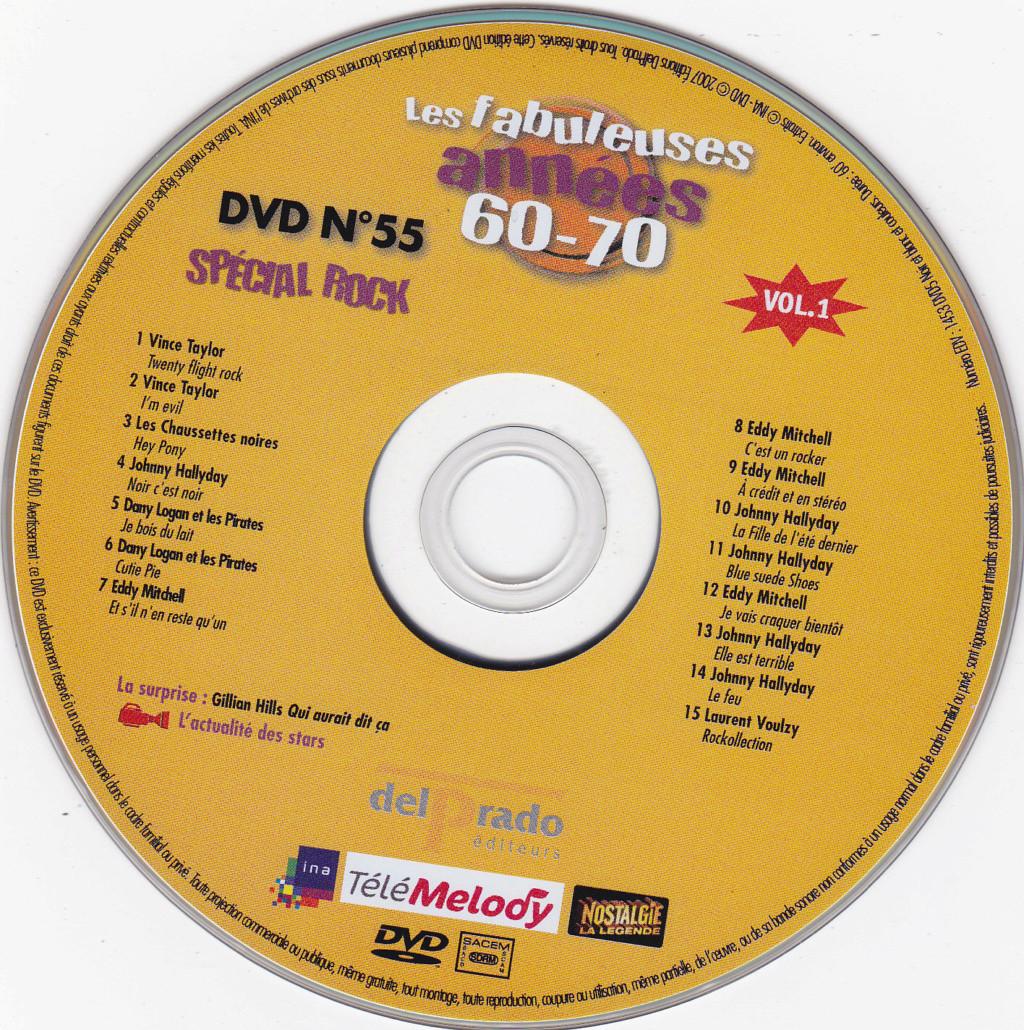 JAQUETTE DVD EMISSIONS TV , DOCUMENTS ,COMPILATIONS , ETC ( Jaquette + Sticker ) 2007_l27