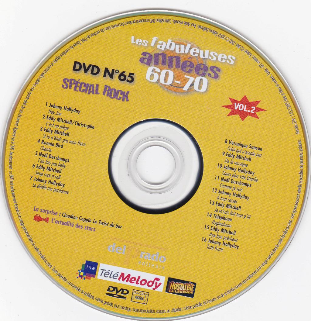 JAQUETTE DVD EMISSIONS TV , DOCUMENTS ,COMPILATIONS , ETC ( Jaquette + Sticker ) 2007_l31