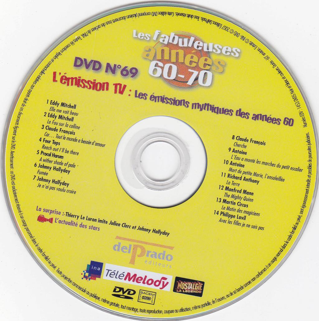JAQUETTE DVD EMISSIONS TV , DOCUMENTS ,COMPILATIONS , ETC ( Jaquette + Sticker ) 2007_l33