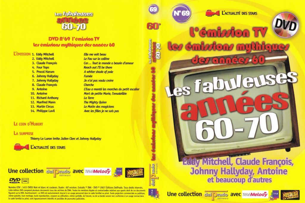 JAQUETTE DVD EMISSIONS TV , DOCUMENTS ,COMPILATIONS , ETC ( Jaquette + Sticker ) 2007_l34