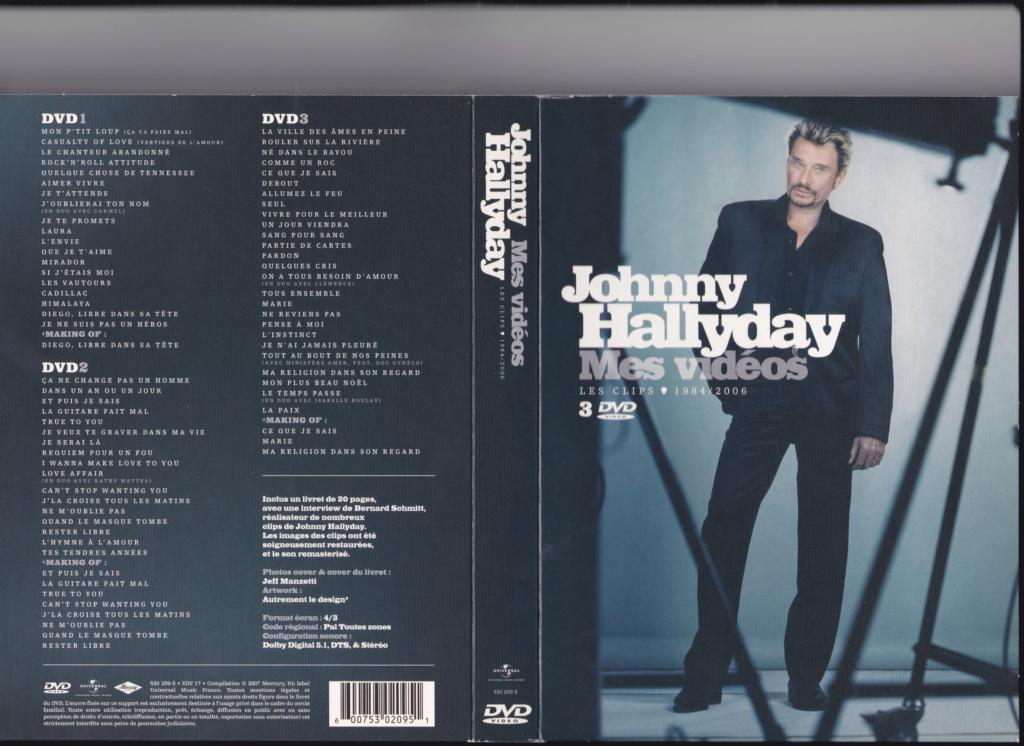JAQUETTE DVD EMISSIONS TV , DOCUMENTS ,COMPILATIONS , ETC ( Jaquette + Sticker ) 2007_m11
