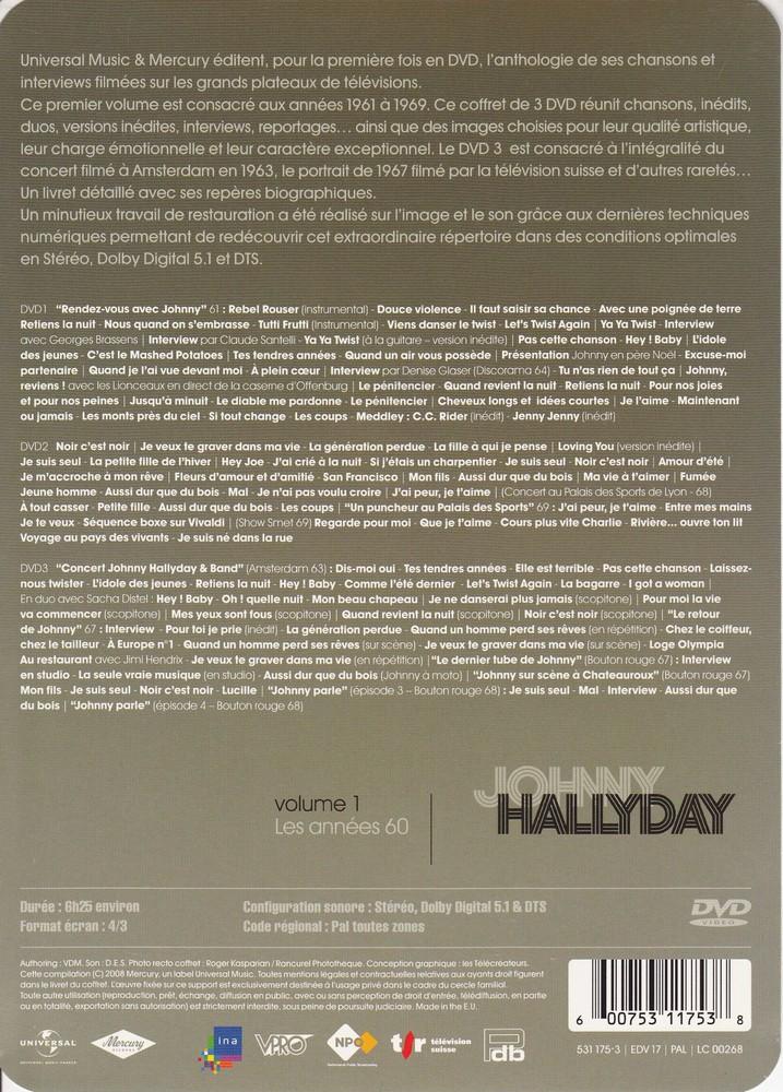 JAQUETTE DVD EMISSIONS TV , DOCUMENTS ,COMPILATIONS , ETC ( Jaquette + Sticker ) 2008_j14