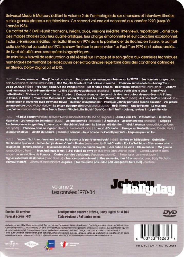 JAQUETTE DVD EMISSIONS TV , DOCUMENTS ,COMPILATIONS , ETC ( Jaquette + Sticker ) 2008_j20
