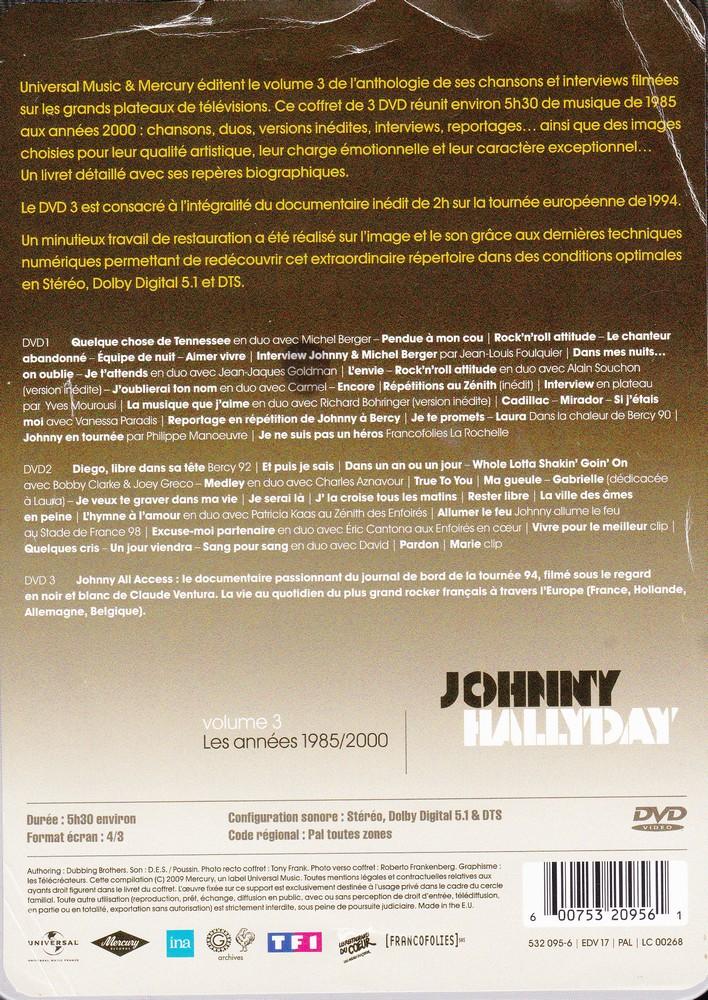 JAQUETTE DVD EMISSIONS TV , DOCUMENTS ,COMPILATIONS , ETC ( Jaquette + Sticker ) 2008_j26