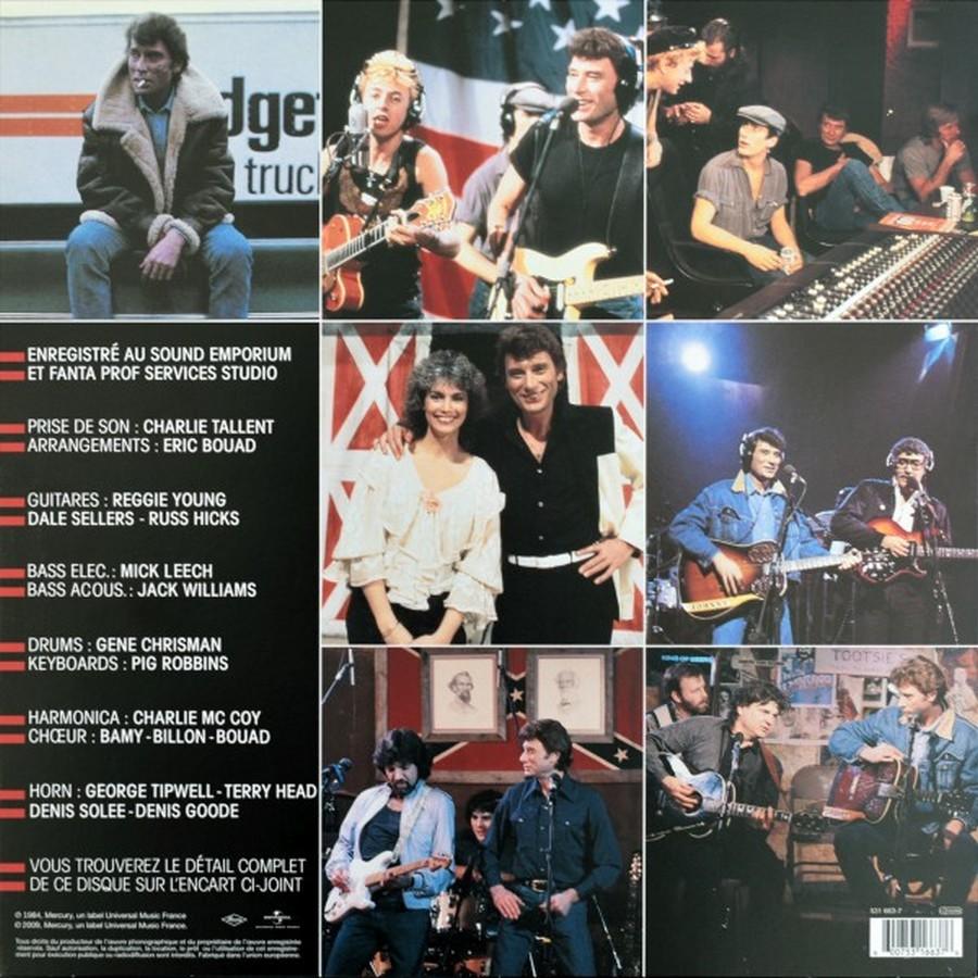 HALLYDAY 84 'NAHSVILLE'  ( 33 TOURS 30CM )( TOUTES LES EDITIONS )( 1984 - 2021 ) 2009-021