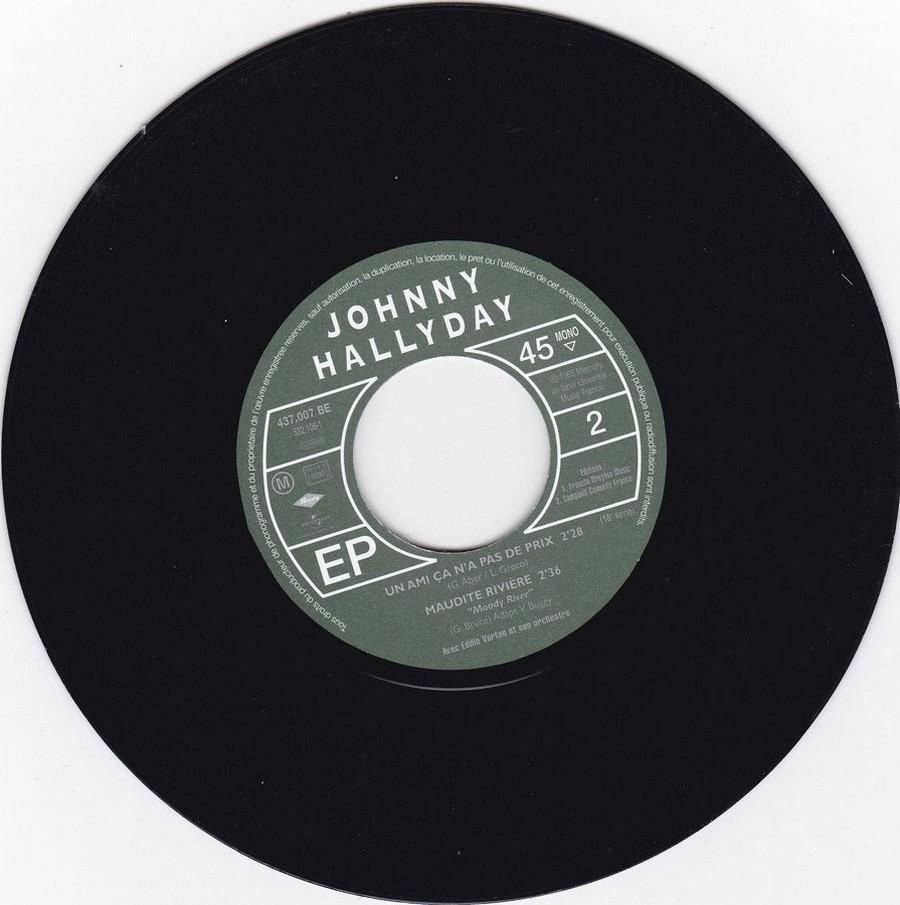 Johnny luit dit adieu ( EP 45 TOURS )( TOUTES LES EDITIONS )( 1965 - 2009 ) 2009_016