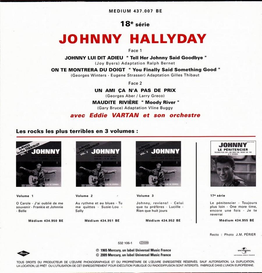 Johnny luit dit adieu ( EP 45 TOURS )( TOUTES LES EDITIONS )( 1965 - 2009 ) 2009_018