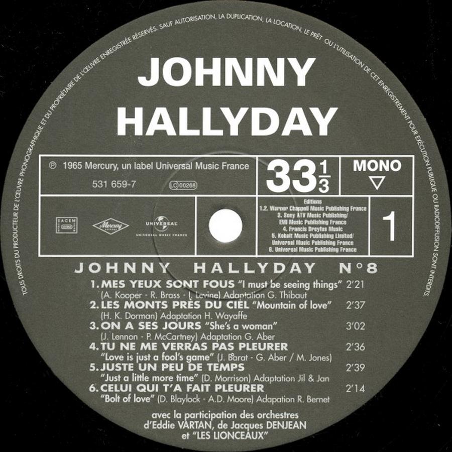 HALLELUJAH 33 TOURS ( TOUTE LES EDITIONS )( 1965 - 2009 ) 2009_h13