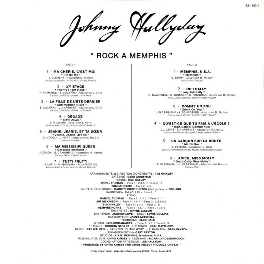 ROCK A MEMPHIS ( 33 TOURS )( TOUTES LES EDITIONS )( 1975 - 2020 ) 2009_r17
