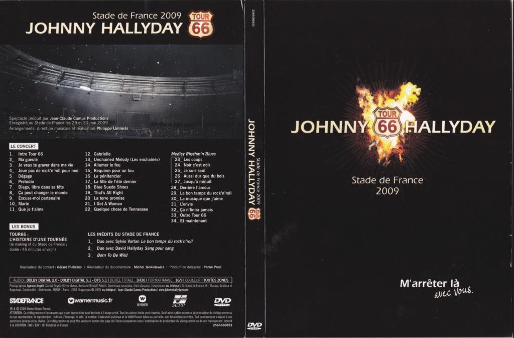 JAQUETTE DVD CONCERTS ( Jaquette + Sticker ) 2009_s27