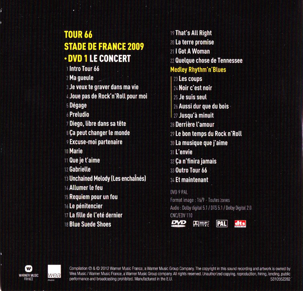 JAQUETTE DVD CONCERTS ( Jaquette + Sticker ) 2009_s37