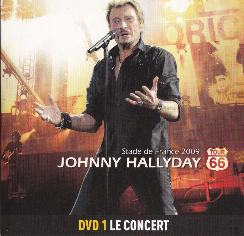 JAQUETTE DVD CONCERTS ( Jaquette + Sticker ) 2009_s38
