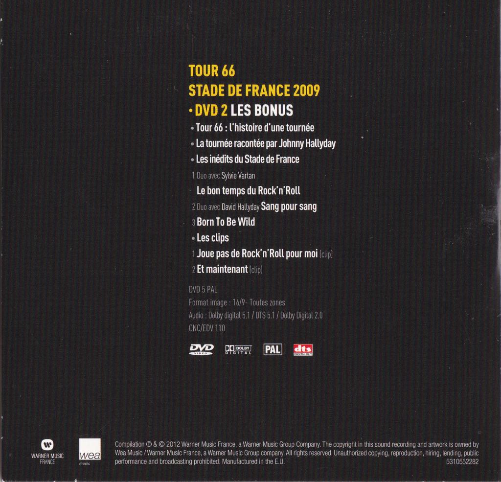 JAQUETTE DVD CONCERTS ( Jaquette + Sticker ) 2009_s41