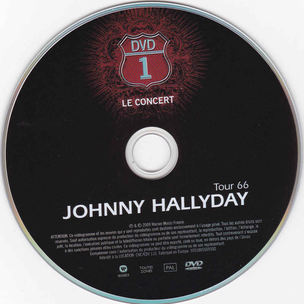 JAQUETTE DVD CONCERTS ( Jaquette + Sticker ) 2009_s42