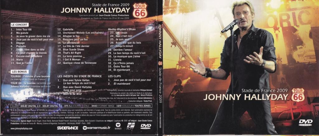 JAQUETTE DVD CONCERTS ( Jaquette + Sticker ) 2009_s43