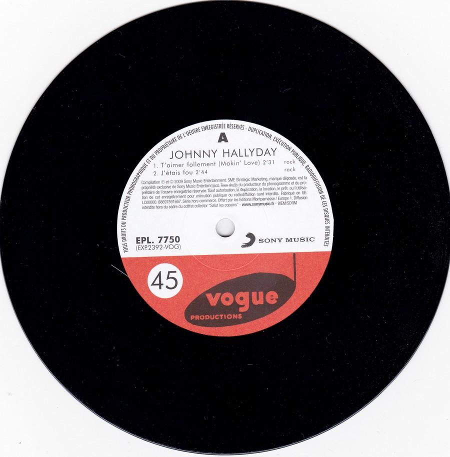 T'aimer follement ( EP 45 TOURS )( TOUTES LES EDITIONS )( 1960 - 2019 ) 2009_t14