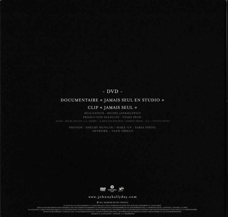 COFFRET JAMAIS SEUL ( COFFRET COLLECTOR )( 2011 ) 2011_j27